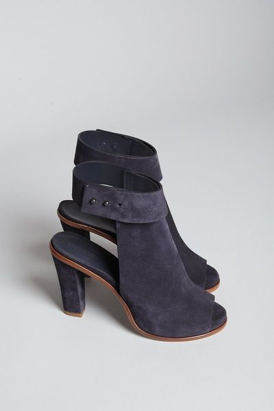 Totokaelo - Woman by Common Projects - Strap Ankle Boot - Off Black