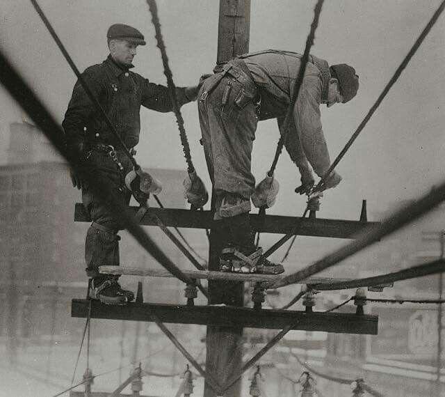 126 Best Vintage Lineman Images On Pinterest Power