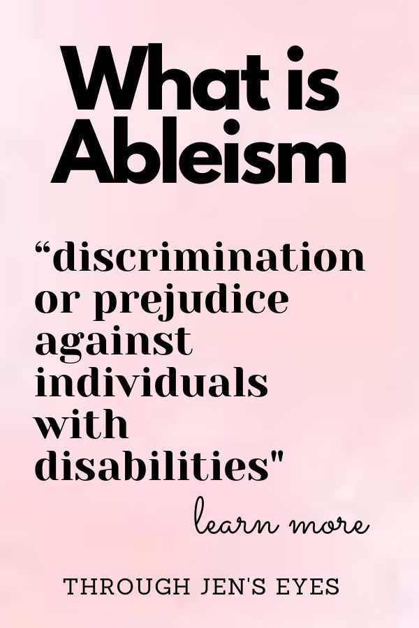Pin On Ableism