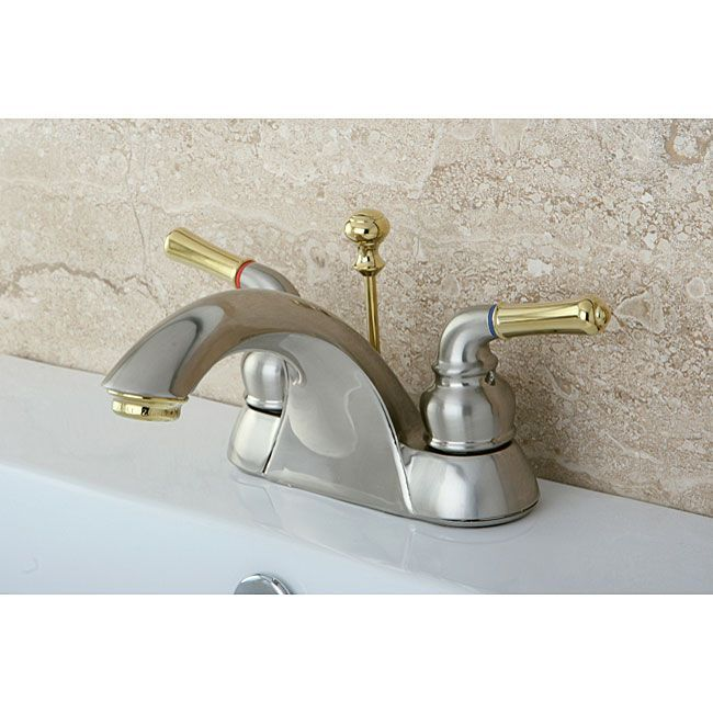Naples Satin Nickel Polished Brass Bathroom Faucet Naples Satin