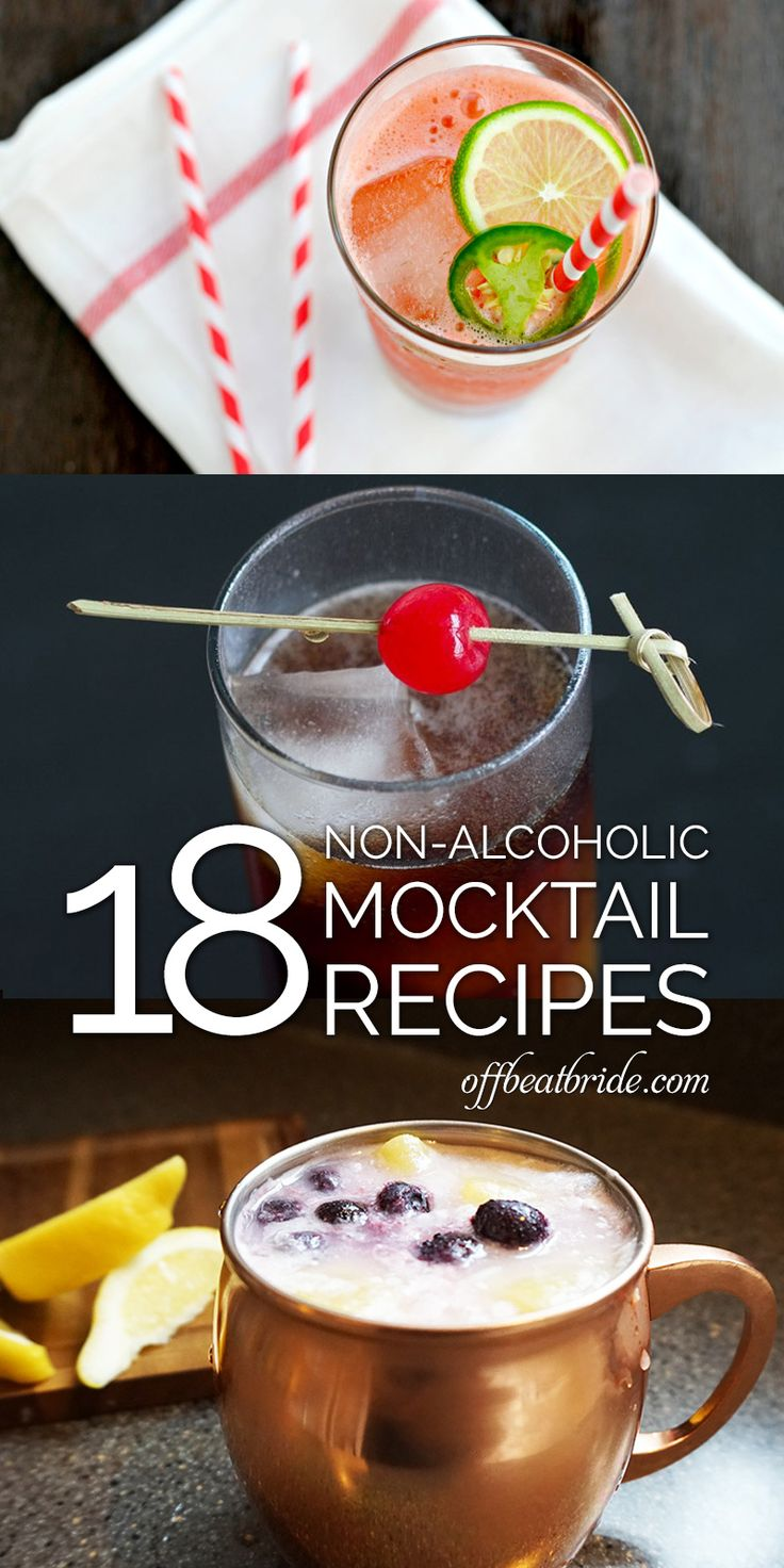 We've got some great mocktail recipes to blow your mind... just 'cuz these drinks don't have alcohol doesn't mean they don't have flavor and style for days!