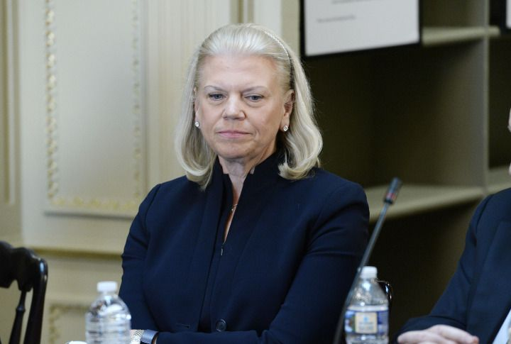 Ginni Rometty wrote a letter explaining the decision to employees.