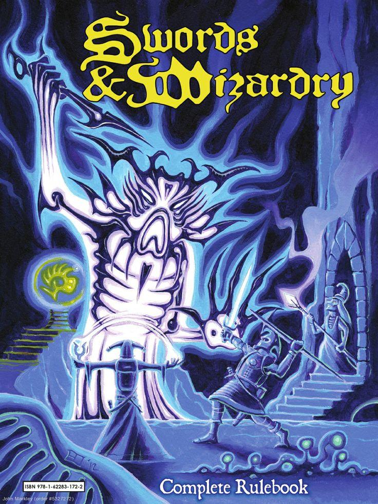 Swords and Wizardry Complete Rulebook #swordsandwizardy #rpgs #froggodgames