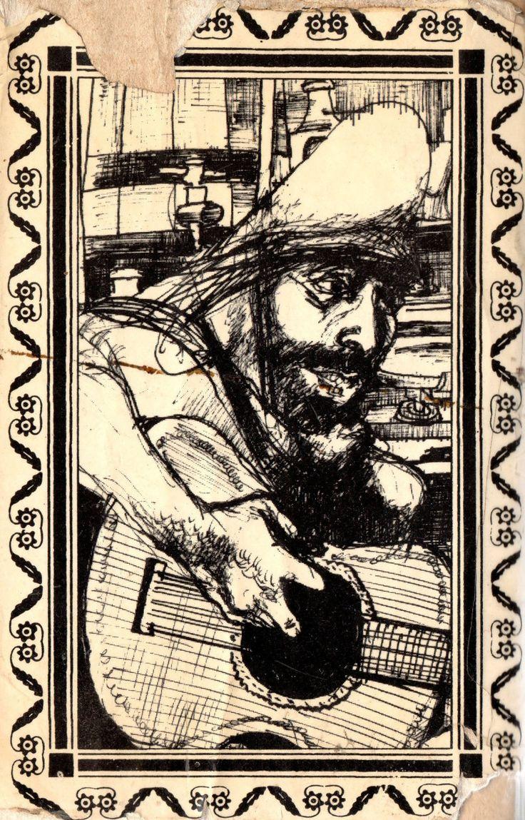 Ilustraciones de Gabriel Di Toto / El gaucho Martín Fierro y la vuelta de Martín Fierro. De la base de datos de ilustraciones de la Universidad de Buenos Aires