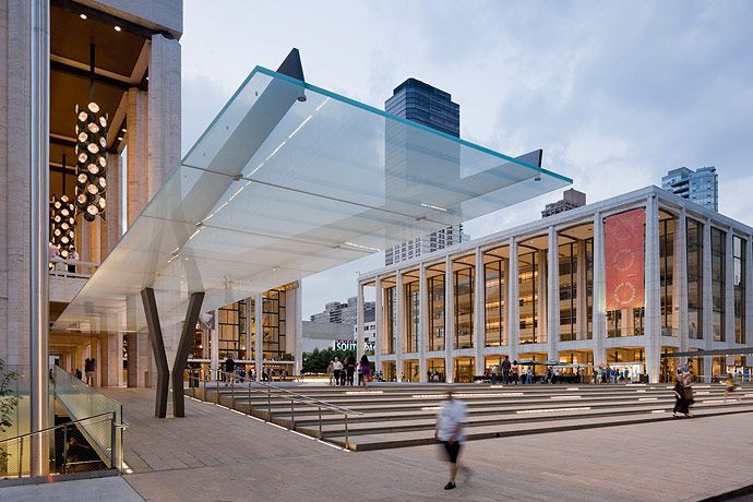 Diller Scofidio + Renfreo, Lincoln Center, photographed by Iwan Baan