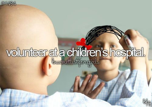 This is one of the most precious things you could do...i would love to actually be a nurse