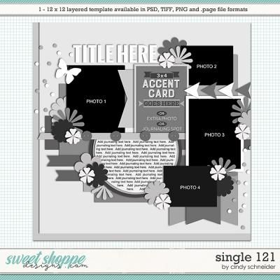 Cindy's Layered Templates - Single 121 by Cindy Schneider