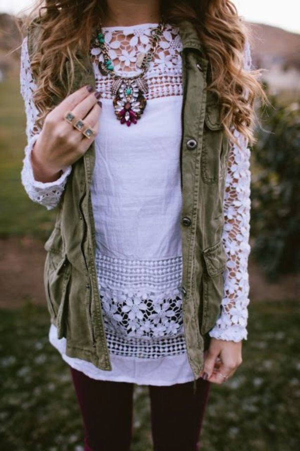 Adorable Boho Casual Outfits to Look Cool : I like my money right where I can see it: hanging in my closet.