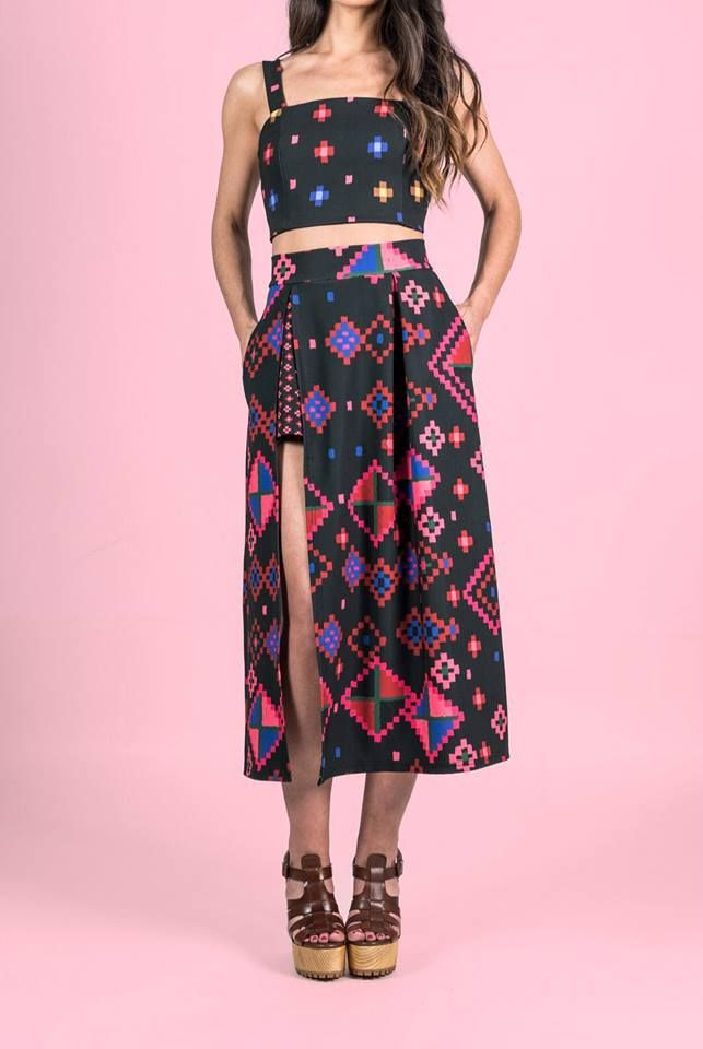 """➕Duet➕ ➕featuring """"LALAMI"""" top: https://www.karavanclothing.com/…/sprin…/products/lalami-top and """"WINTERSON"""" skirt: https://www.karavanclothing.com/…/pro…/winterson-skirt-black . NOW AVAILBLE in stores and online.➕  ➕""""THE STORYTELLERS""""SS2017➕ #karavan #karavanclothing #karavangirl"""