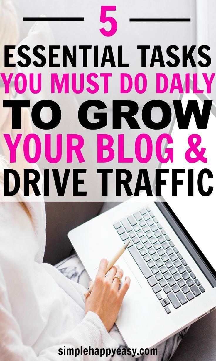 Having a blog is a great way to work at home and make a good income. But, to ensure that your work at home income is enough you have to drive traffic to your blog and grow your platform. This can be a challenge if you don't know where to start. These task
