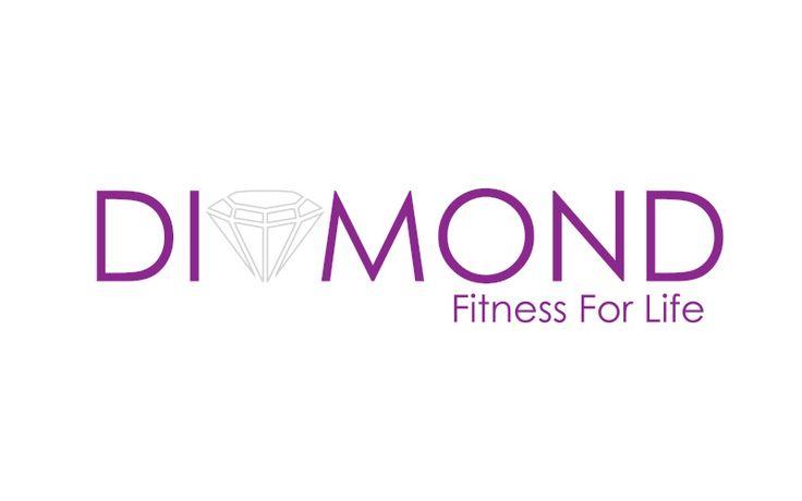 Diamond fitness for life logo design by Heaventree Design.