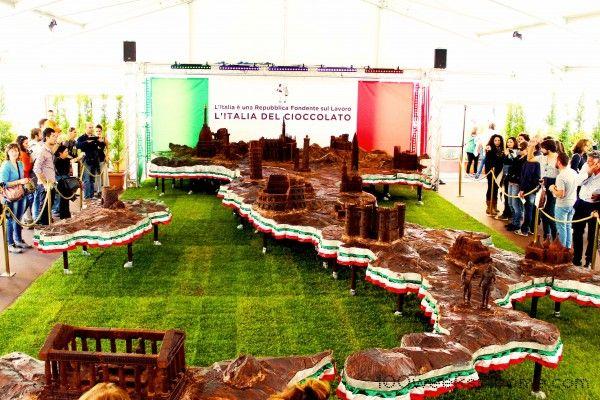 Chocolate Italy at Perugia Eurochocolate Festival