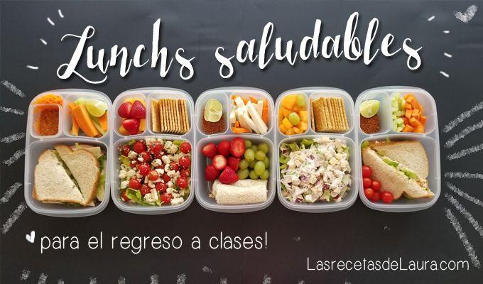 Lunch Para Los Cinco Dias De La Semana Receta Recetas De Comida Saludable Comida Comida Saludable