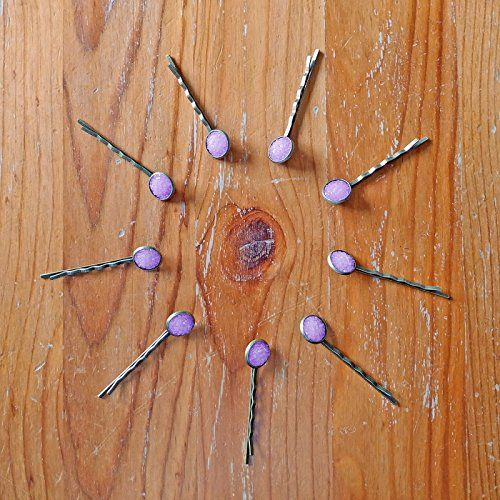 Amethyst Druzy Hair Clips - Set of Two Sparkly Lilac Resi... https://www.amazon.com/dp/B075B94X8H/ref=cm_sw_r_pi_dp_x_rS6EAb2N6HDD4