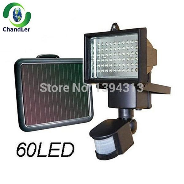 469.00$  Buy here - http://aliexs.worldwells.pw/go.php?t=2042410830 - High Quality Waterproof 60LED Outdoor/Indoor Solar Power LED Light Panel Garden Path Wall Shed Fence Yard  Light