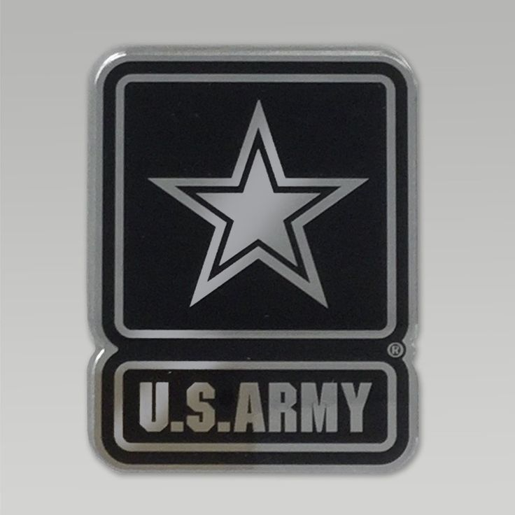 Give your car an added value with this great Army Star Chrome Emblem! &nbsp  Made in the U.S.A. Army Star Chrome emblem To apply peel protective tap from foam adhesive back and apply auto emblem with firm pressure to clean dry area Be careful with application as the adhesive is designed to last for years throughout extreme temperatures and or car washes