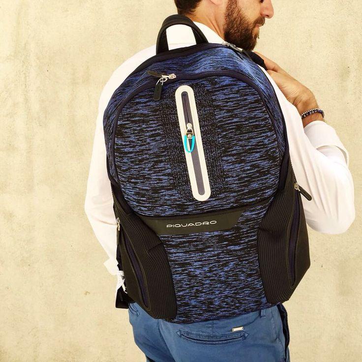PIQUADRO manlioboutique.com/piquadro #bags #menaccessories #backpack