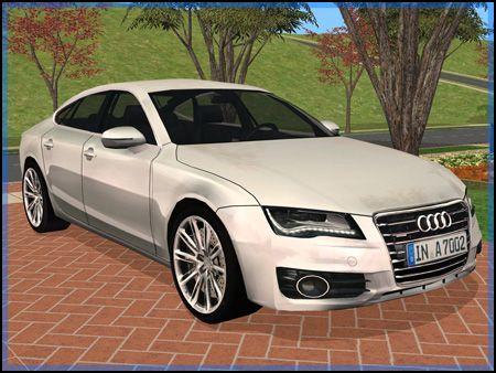 Fresh-Prince Creations - Sims 2 - 2011 Audi A7