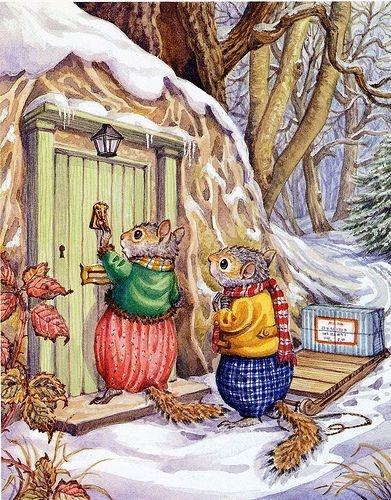 Knock, knock ... Audrey Tarrant