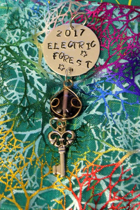 Electric Forest 2017 pendant version 2 by ComeOnLetsFlow on Etsy
