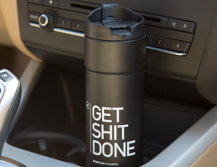 Get Sh*t Done #TravelMug http://thegadgetflow.com/portfolio/get-sht-done-travel-mug/?utm_content=buffer2d5ff&utm_medium=pinterest&utm_source=pinterest.com&utm_campaign=buffer One mug for all your travel trips! #camping #mugs