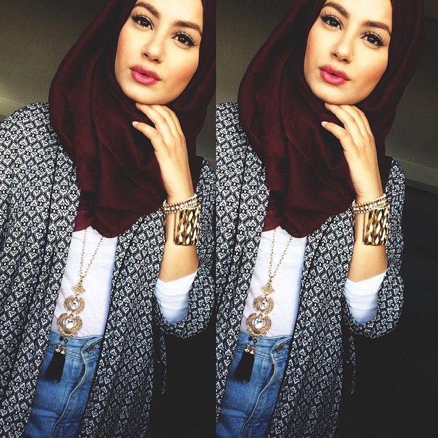 hijab fashion <3 #fashion #hijab