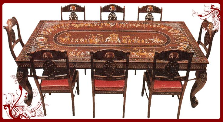 Cool eight chairs dining table check more at - India dining table ...