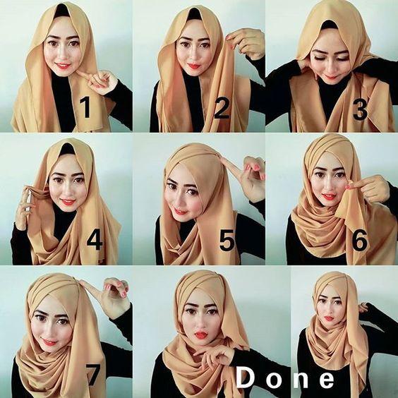 Criss Cross Hijab Tutorials