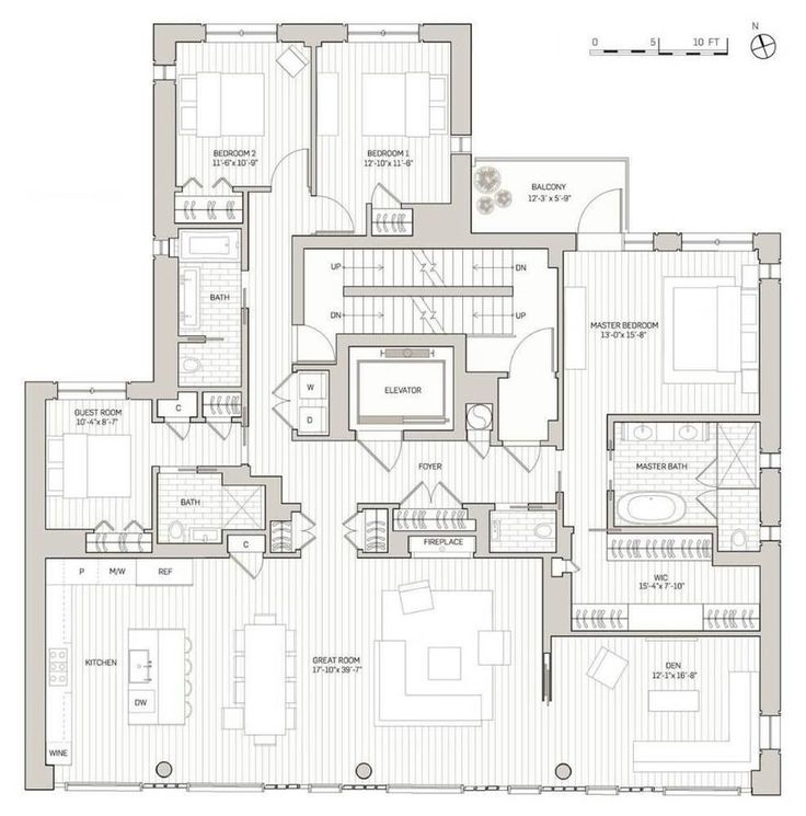 1436 best images about architecture on pinterest 2nd floor house plans and mansions - Lay outs penthouse ...