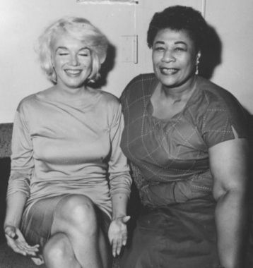 Ella Fitzgerald wanted to play at Mocambo, a very popular club in the 50's but they wouldn't book her because she was black. Marilyn Monroe called the owner & said she would sit at the front table every night Ella sang. And she did.
