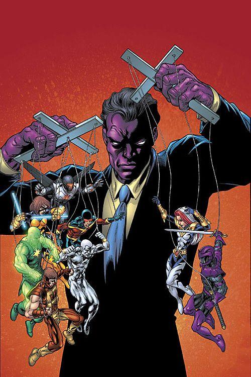 Purple Man | Tom Grummett