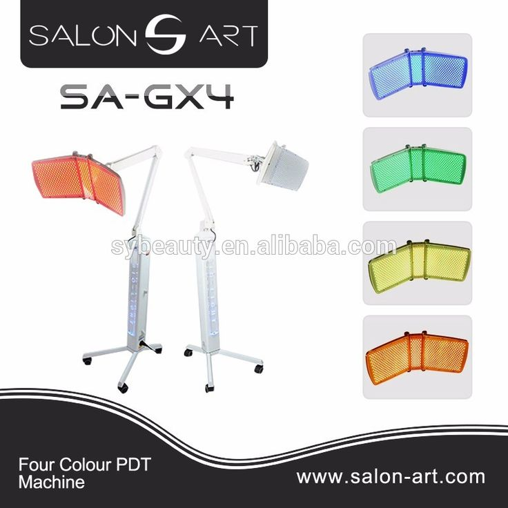 SA-GX4 New photon bio light therapy pdt skin whitening machine / pdt led light therapy
