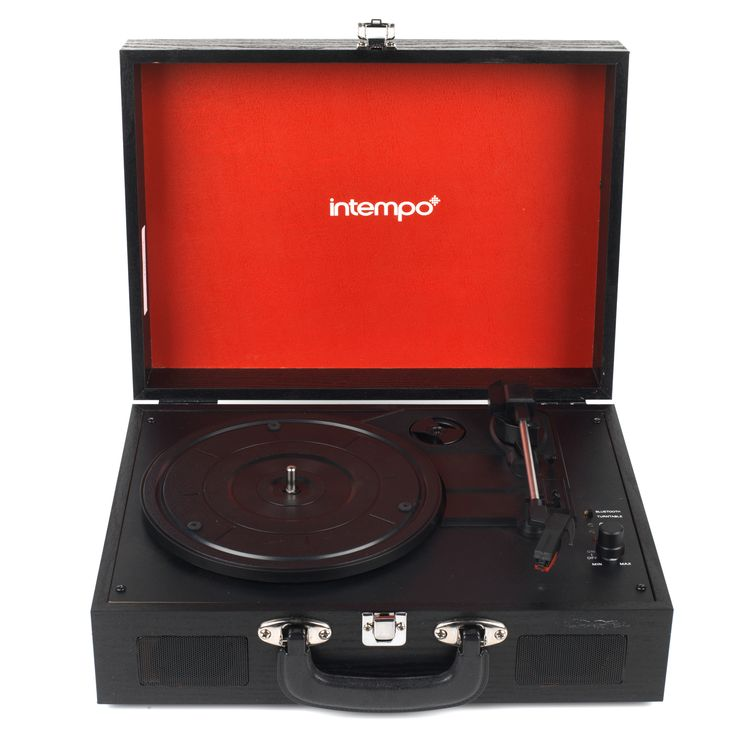 Intempo Wooden Vinyl Turntable