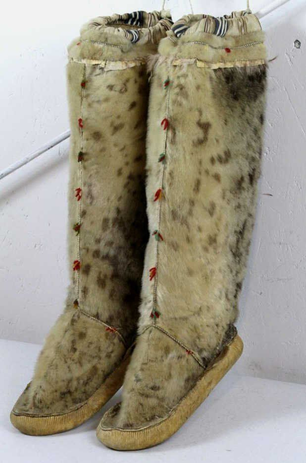 After seeing pictures of these horrid creatures and losing a bet I believe this to be the best use for this creature - Leopard Seal Skin Mukluks