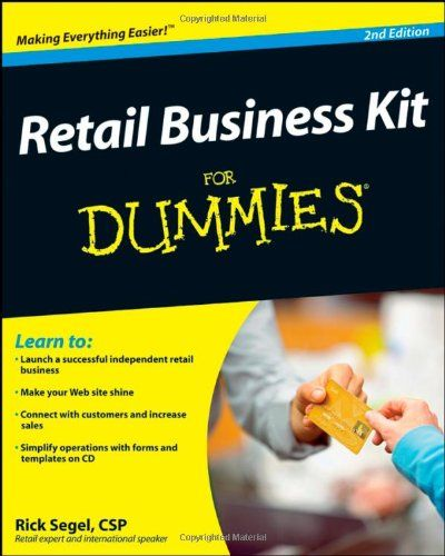 27 best good reads for retailers images on pinterest shops retail retail business kit for dummies by rick segel fandeluxe Images