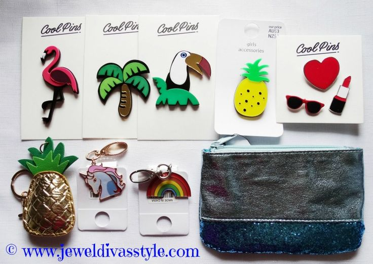 JDS - bought these awesome retro 80s style brooches and pruse from Kmart Australia - more details on the blog - http://jeweldivasstyle.com/brand-new-jewellery-bargains-so-far-this-year/