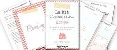 Aperçu du kit d'organisation maison de Lutetia Flaviae. Ce classeur maison contient 103 printables pour s'organiser à la maison facilement ! En savoir plus sur lutetiaflaviae.com !