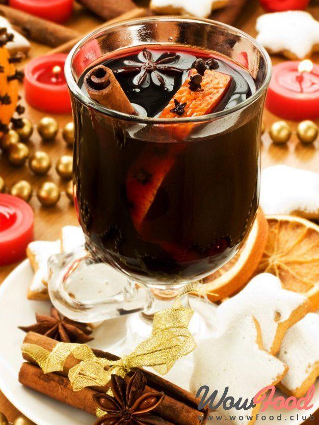 В долгие холодные вечера побалуй себя чудесным, ароматным напитком. А после бодрой морозной прогулке на морозе он идеально согреет и тело и душу. Красное сухое или полусухое вино и горсть сп