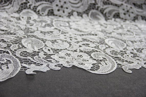 Light Ivory Guipure Lace | Bridal Lace | Free Delivery within UK