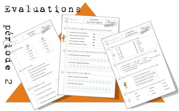 CE1: Evaluations Période 2: nov-déc - Bout de gomme