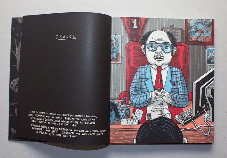 Graphic Novel »Kleider machen Leute« | Martin Krusche  Edition Büchergilde