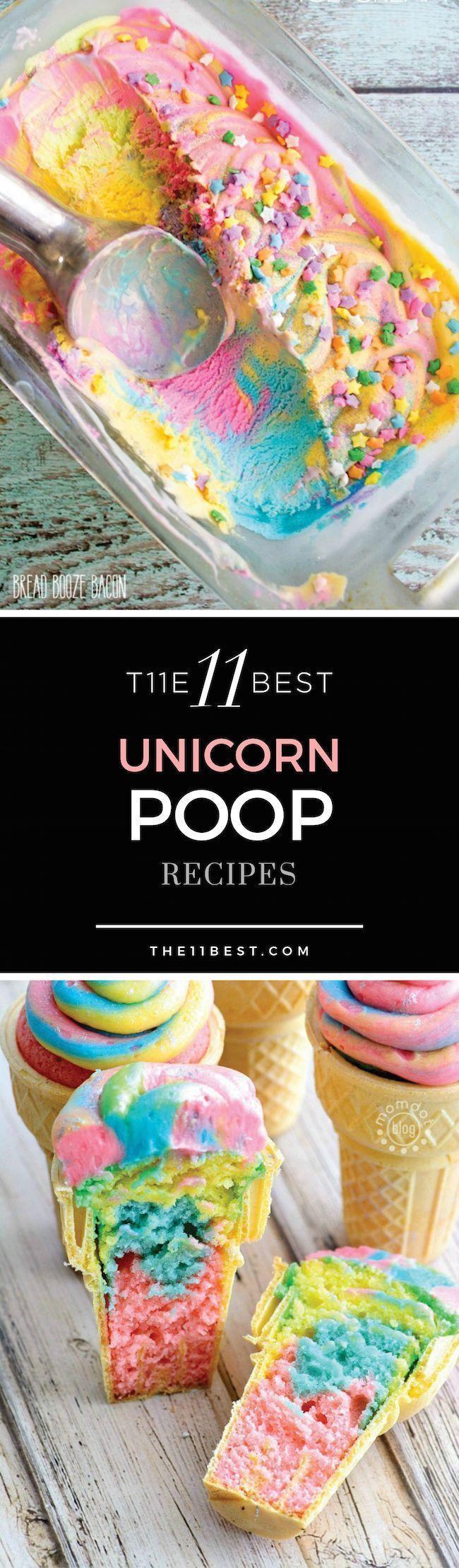 The 11 Best Unicorn Poop Recipes