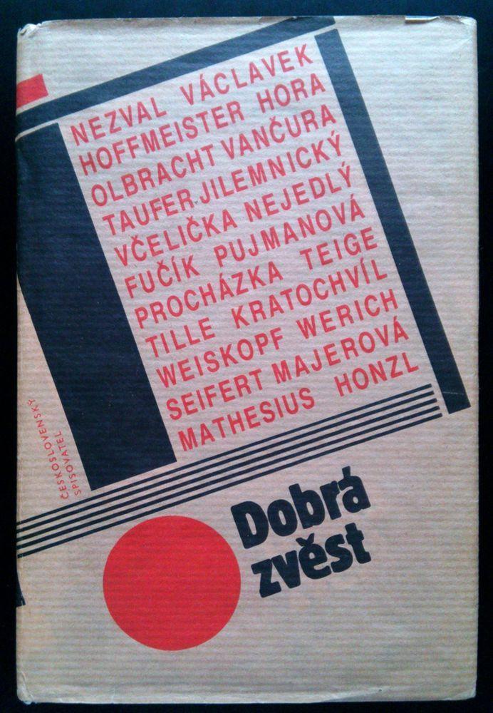 Czech avant-garde #Teige #Tille #Hoffmeister #Werich #Seifert 1987 Dobra zvest  http://www.ebay.com/itm/-/131430319456?roken=cUgayN&soutkn=80WVs0 via @eBay