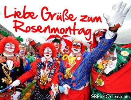 #Rosenmontag - GB Pics, Gästebuch Bilder, Jappy Bilder