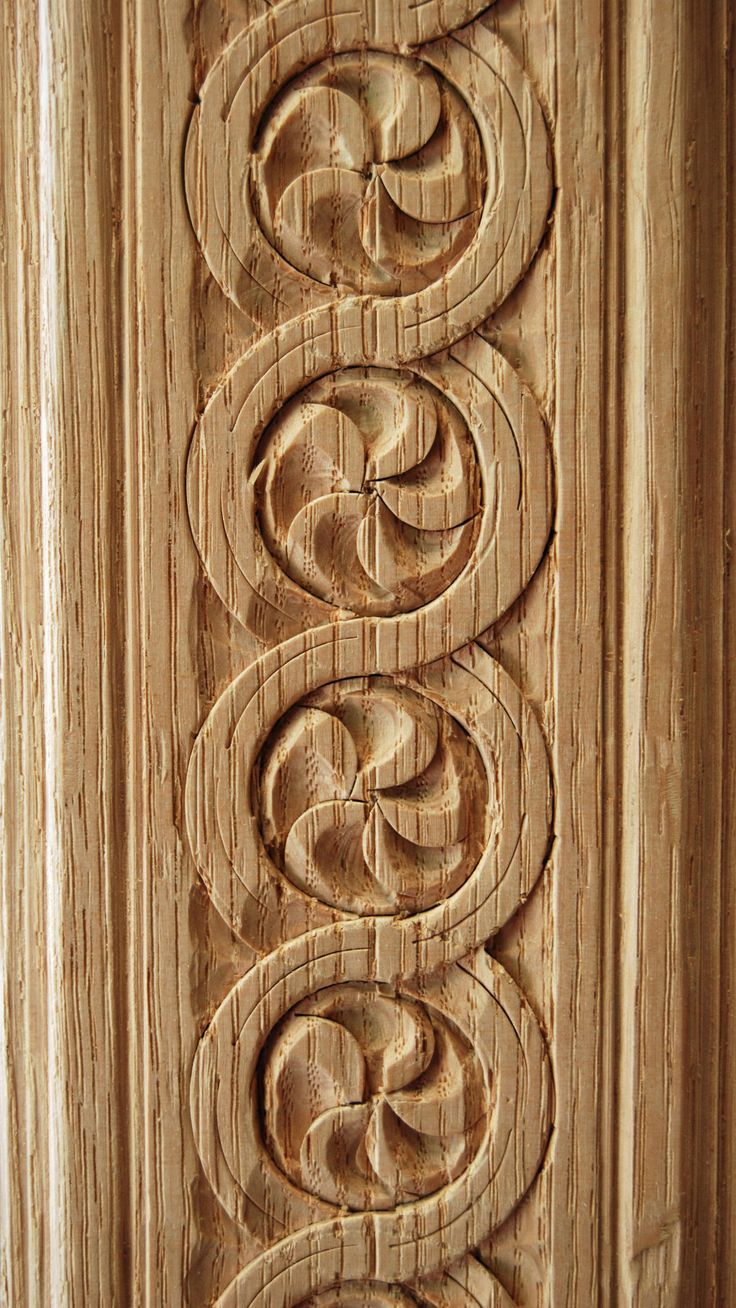 Patterns wood carving
