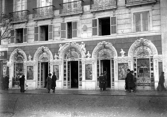 Lisboa de Antigamente: Palácio Foz - Pastelaria Foz, Restaurante «Abadia» e o «Clube dos Makavenkos»