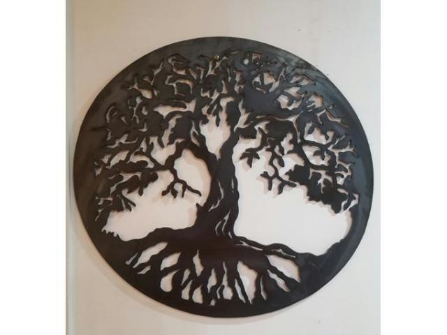 Tree of Life Wall Art Hanging Metal Iron Sculpture Garden Bendigo - JTC Industries Free Online Australian Ads