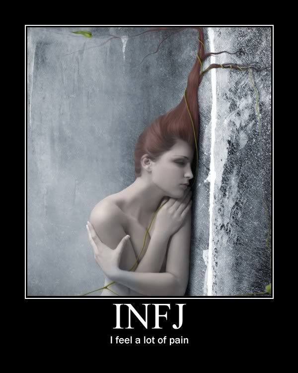 infj: being highly empathetic means you feel a lot of pain.