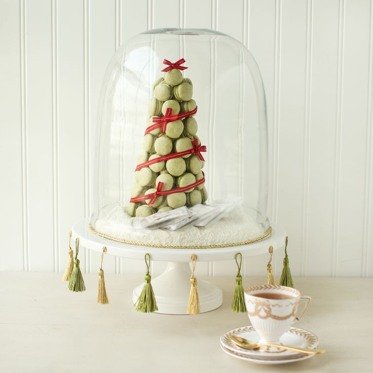 Macaron Christmas Tree | Thirsty For Tea