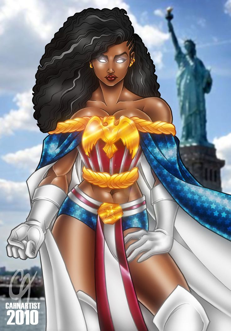 Black Women Super Heros